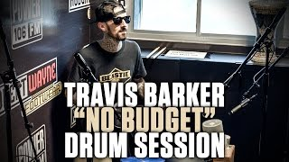 Travis Barker Kills Drum Session Using Only Buckets & Drumsticks
