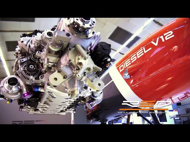 RED Aircraft  Piston Engine Test Flight