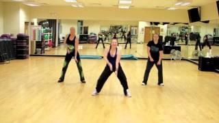"""Bumpy Ride"" (soca remix) by Mohombi. Cardio Dance Choreography"