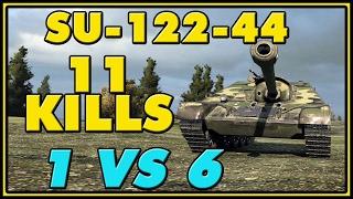 World of Tanks | SU-122-44 - 11 Kills - 5.8K Damage