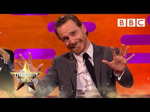Michael Fassbender&39;s X-Men Super power demonstration - The Graham Norton Show - BBC