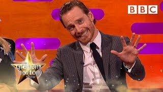 Michael Fassbender's X-Men Super power demonstration - The Graham Norton Show - BBC