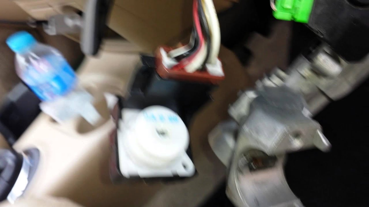honda civic ignition switch emergency solution [ 1280 x 720 Pixel ]