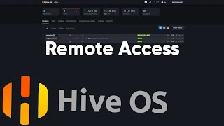 Remote Access Methods for HiveOS