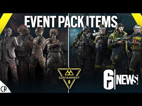 Containment Event Pack Items & Weekly Challenge Bundle - 6News - Tom Clancy's Rainbow Six Siege |