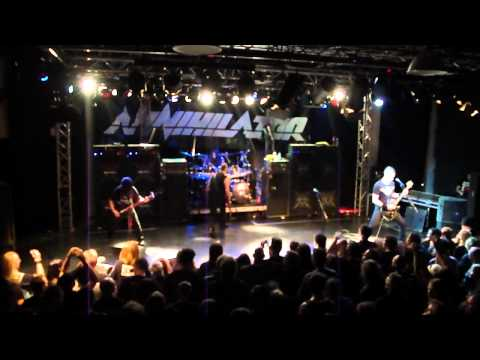 Annihilator  Set the world  fire   @ De Pul, Uden, Netherlands 2010