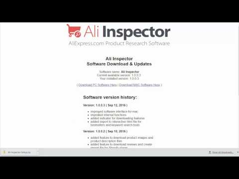How To Install Ali Inspector The Best Ali Express Research Software