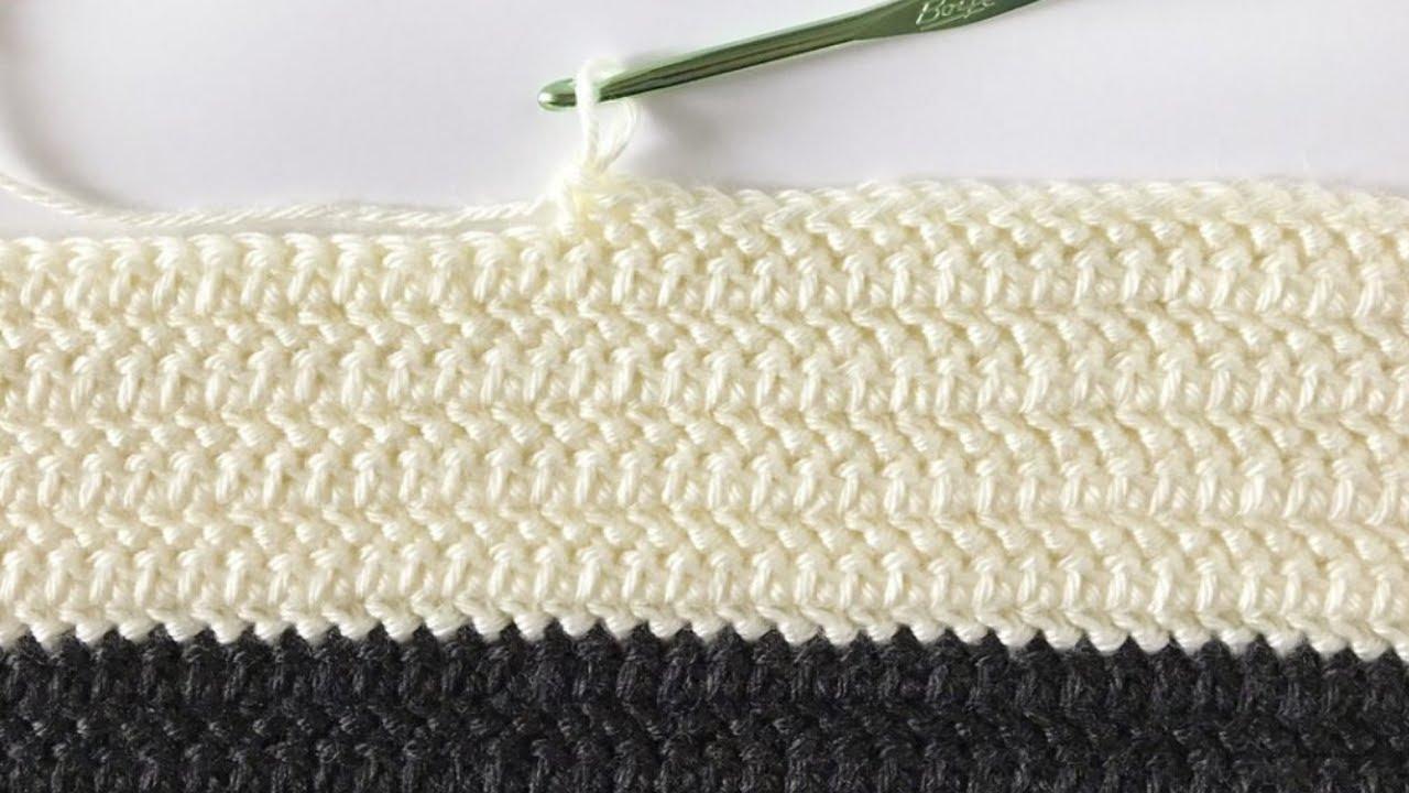 Baby Blanket *ocherarmydarkbrown* crochet 105x85cm    41x33inch