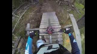 2013 Gravity Nationals DH Course Preview @ Angel Fire Bike Park