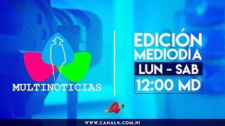Noticias de Nicaragua - Multinoticias Mediodía, 9 de junio de 2020