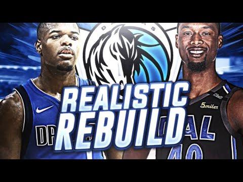 2 #1 PICKS?? REALISTIC DALLAS MAVS REBUILD! NBA 2K18