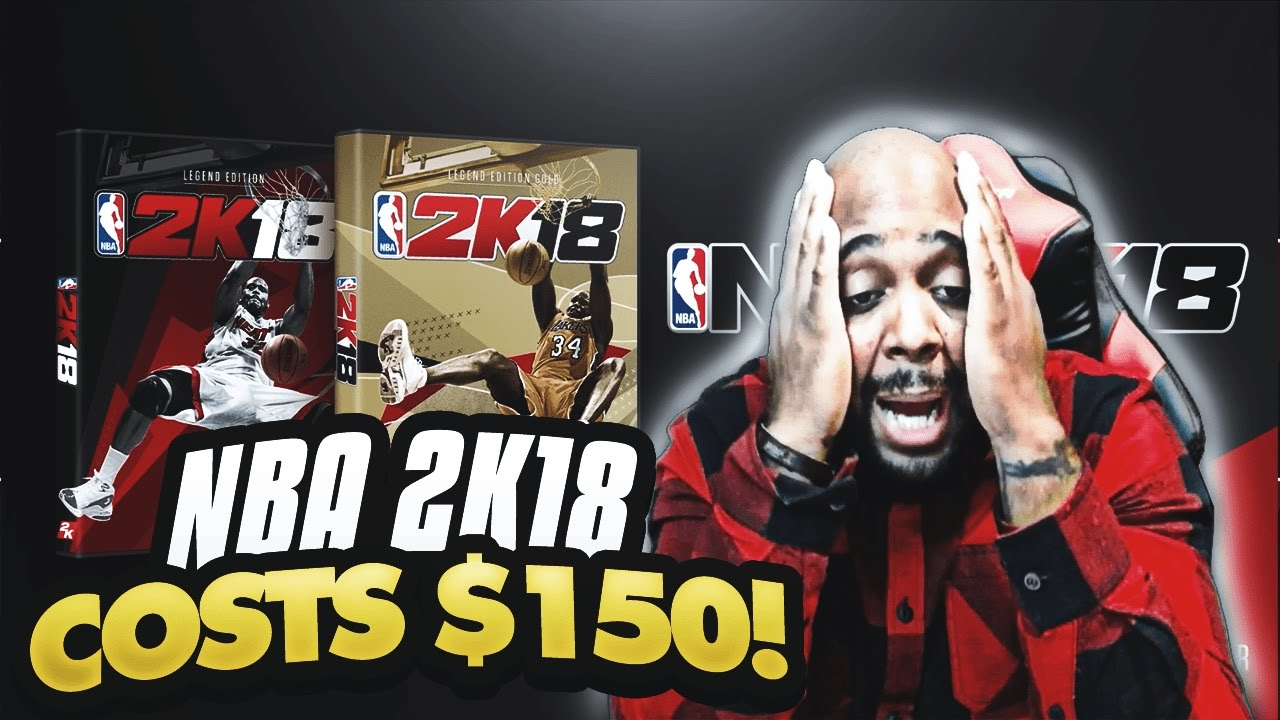 NBA 2K18 COSTS $150! SHOULD YOU BUY THE SHAQ GOLD LEGEND EDITION OF NBA 2K18 ?