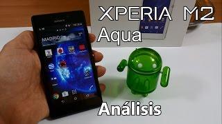 Sony Xperia® M2 Aqua, Análisis y maestría de uso