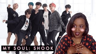 [CHOREOGRAPHY] BTS Boy With Luv Dance Practice REACTION (BTS REACTION)