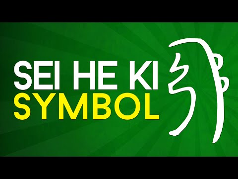 Reiki Symbols Explained: Sei He Ki