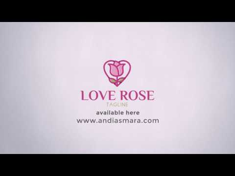 Love Rose Logo Template