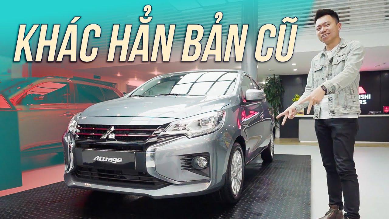 Mitsubishi Attrage 2020 – Lột xác về ngoại hình dù chỉ là bản nâng cấp…| Xế Cưng