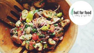 ANTIPASTI BREAD SALAD (SUMMER BBQ SIDE IDEAS EP #1)   hot for food