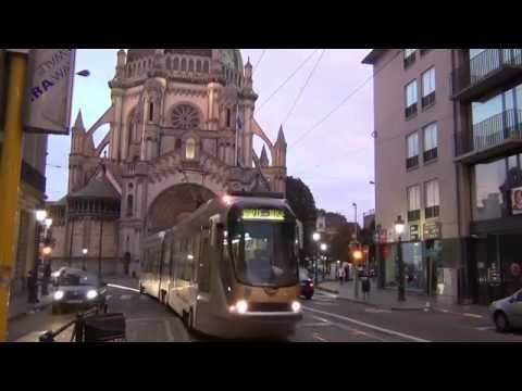 Brussels Tramway & Metro/Premetro. Рельсовый городской транспорт Брюсселя (Бельгия). 14-16.10.12