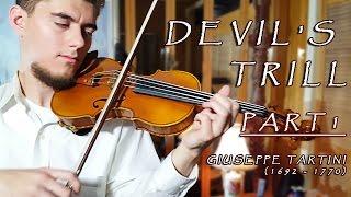 DEVIL'S TRILL - Tartini Violin Sonata in G minor (1/2)