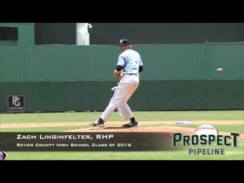 Zach Linginfelter, RHP, Sevier County High School, Pitching Mechanics at 200 FPS