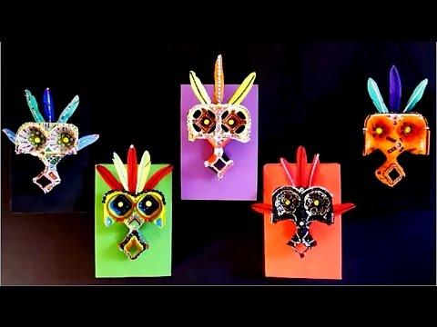 Diy Tribal Masks Diy Room Decor Craft Ideas For Kids