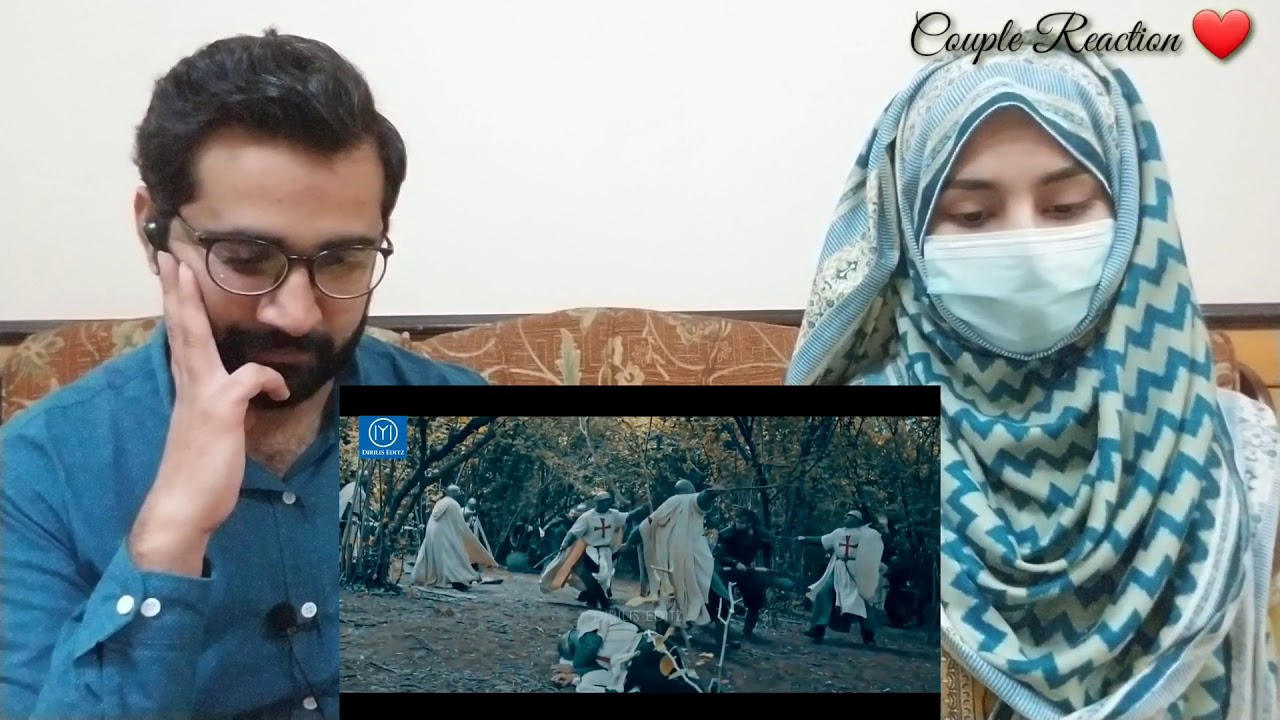 Download Couple Reaction on Tribute to  Turgut Alp   Drillis  Ertugrul Ghazi   Turgut Alp   #CoupleReaction