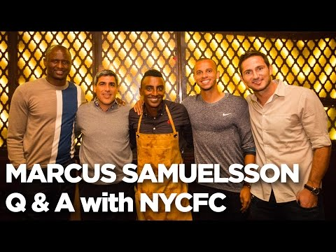 Chef Marcus Samuelsson | Q & A with Patrick Vieira, Frank Lampard, Claudio Reyna & Jason Hernandez