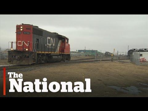 Runaway Train Rolls Through Regina