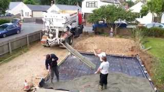 Concreting Garage Base