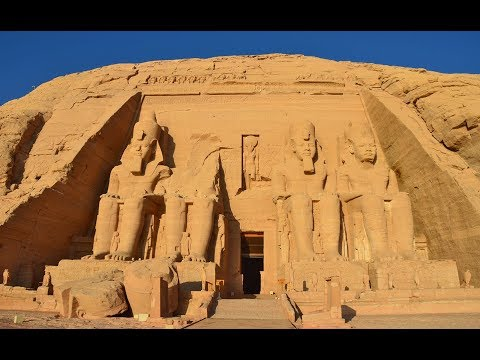 THE RELOCATION OF THE ABU SIMBEL TEMPLES - EGYPT