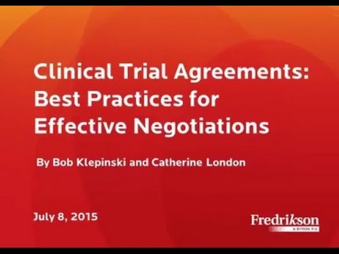 Clinical trial agreements best practices for effective clinical trial agreements best practices for effective negotiations platinumwayz