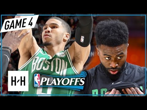 Jaylen Brown & Jayson Tatum Full Game 4 Highlights vs Cavaliers 2018 Playoffs ECF - 42 Pts