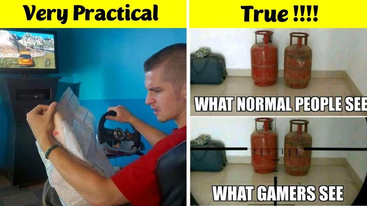 Only True Gamer Will Understand Funny Gaming Memes V4 Youtube