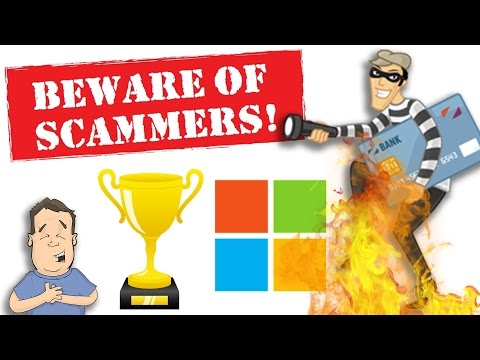 Don't try to scam an ex-Microsoft employee or you will regre