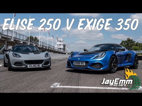 lotus-elise-cup-250-vs-exige-350---on-track-at-goodwood