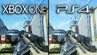 Xbox One vs Playstation 4 Advanced Warfare Graphics Comparison (XB1 PS4 Gameplay)