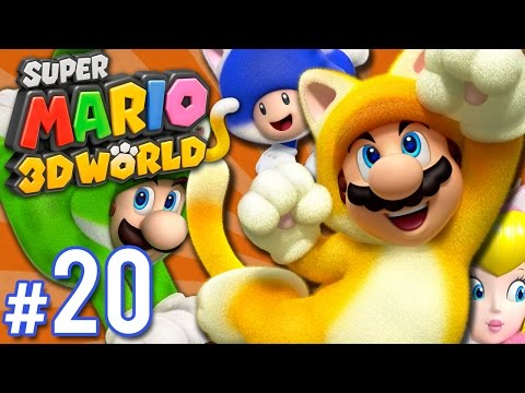 Super Mario 3D World - Still Not Finale | PART 20 | ScykohPl