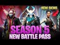 Fortnite Season 5 Full Battle Pass Inside Look! New Map, New Skins, New Vehicles!
