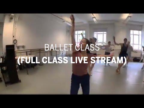 Ballet Class | London Contemporary Dance School (full class live stream)