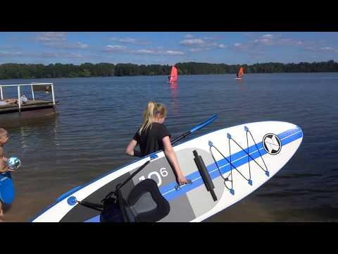 Надувная доска для SUP серфинга ZRAY SUP BOARD MODEL A2