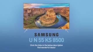 SAMSUNG UN55KS8500 ( KS8500 ) Curved 4K SUHD TV // FULL SPEC REVIEW #SamsungTV