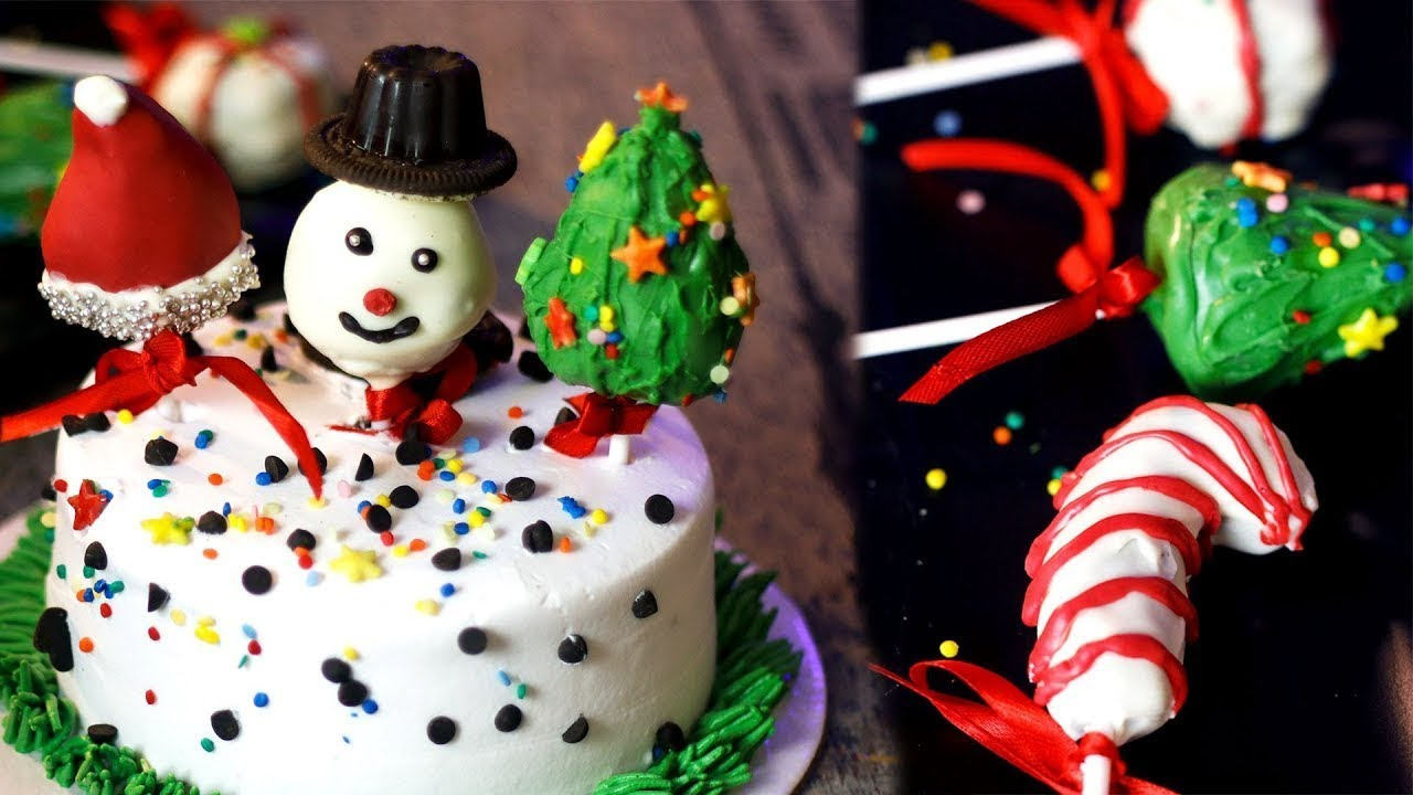 Christmas Themed Cakesicles.Cake Popsicles Christmas Special Cakesicles Mintsrecipes