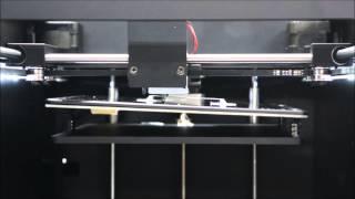 オーバーハング部にサポート材が不要【家庭用3Dプリンターのアーモンド】