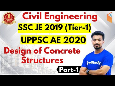 10:00 PM - SSC JE 2019 (Tier-I)   Civil Engg by Sandeep Sir   Design of Concrete Structures (Part-1)