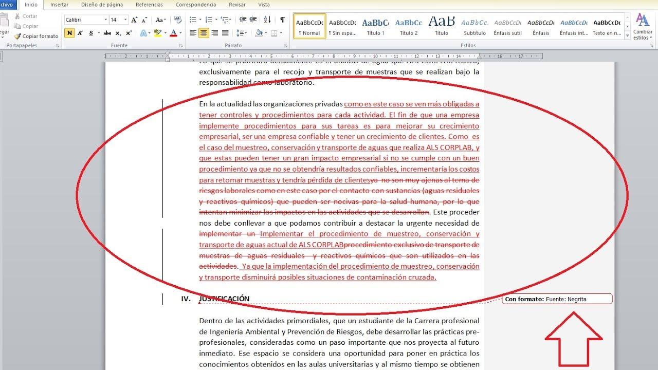 Solucionar Subrayado Rojo Autom 193 Tico En Microsoft Word