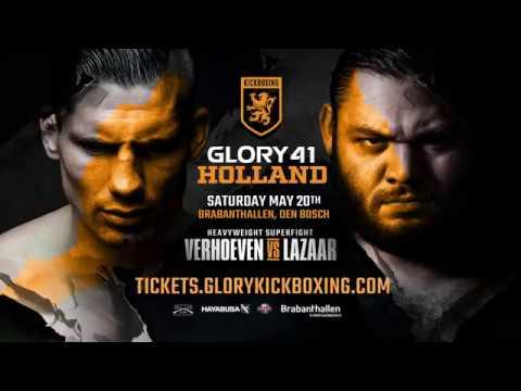 GLORY 41 Holland: Rico Verhoeven vs. Ismael Lazaar - Tickets on Sale!