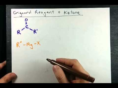 Grignard Reagent And Aldehyde (or Ketone) (Mechanism)