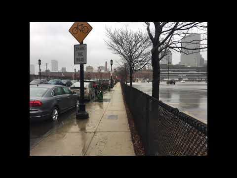 March 2018 Nor'easter, Fort Point, Boston, Massachusetts