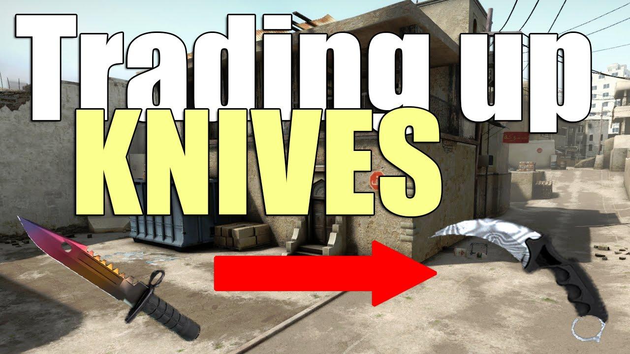 CS GO: Trading up Knives E1